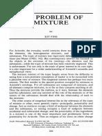 Fine-The problem of mixture.pdf
