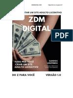 ZDM DIGITAL - COMECE NO MERCADO ADULTO HOJE