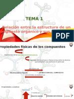 TEMA 1. RELACION ESTRUCTURA-PROPIEDADES