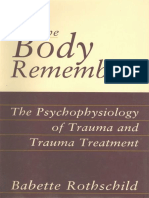 (Hardcover) Babette Rothschild - The Body Remembers_ The Psychophysiology