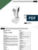 Lenstar User Manual