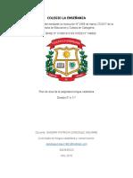 plan de clases castellanos del 21 de dic