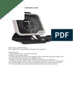 GB dan Spesifikasi Alat kedokteran Umum pusk Nguter