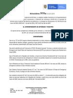 RESOLUCION No. 3659 -PRORROGA SUSPENSIÓN DE TERMINOS, MEDIDAS TRANSITORIAS PREVENCIÓN Y CONTENCIÓN  COVID-19 SNR,SE REANUDAN  TÉRMINOS  DERECHO DE PREFERENCIA (1)
