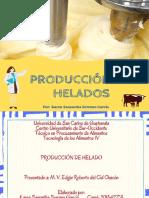 Helados y su produccion