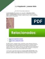 Cisticercosis y triquinosis