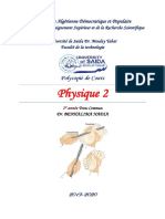 Benhalima Nadia-cours de Physique 2 -2019-2020