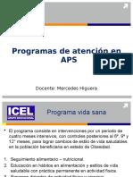 Programas de  APS 2° parte