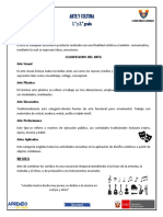 FICHA ARTE Y CULTURA 1° Y 2° PDF