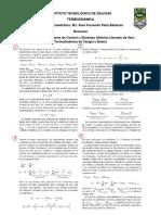 Resumen Termodinámica Análisis de Energía de Volúmenes de Control (Sistemas Abiertos)