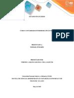 informe contabilidad financiera intermedia