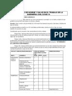 Protocolo de Higiene y Salud en El Trabajo de La Ingenieria Civil