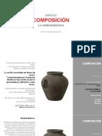 COMPOSICION estereotomica
