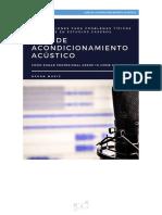 Guía De Acondicionamiento Acústico De Home Studio de OCEAN MUSIC