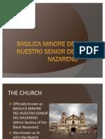 Basilica Minore Del Nuestro Senior Del Nazareno
