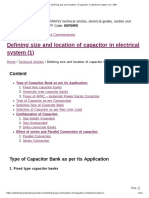 Defining size and location of capacitor in electrical system (1) _ EEP