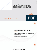 Separación de Residuos y Reciclaje