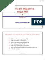 7.1. Balance des paiements et Risque-Pays 2019