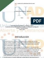 Unidad 1 Paso 2 Analizar de la administración de costosunad paso2