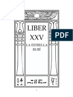 Aleister Crowley - Liber 25 - Liber XXV - La Estrella Rubí