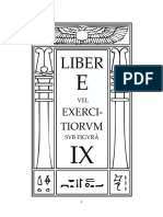 Aleister Crowley - Liber 9 - Liber IX - Liber E vel Exercitiorum