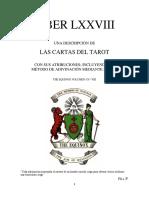 Aleister Crowley - Liber 78 - Liber LXXVIII - Liber T