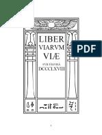 Aleister Crowley - Liber 868 - Liber DCCCLXVIII - Liber Viarvm Viæ