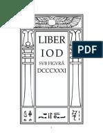 Aleister Crowley - Liber 831 - Liber DCCCXXXI - Liber Yod