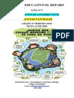 ACTIVIDAD NATURALES 2 PERIODO GRADO TERCERO ADAPTACION SERES VIVOS