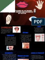 Afectaciones de Los Organos de Los Sentidos