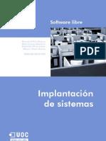 Implantacion de sistemas de software libre