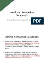 241649287-Teknik-Dan-Komunikasi-Terapeutik.pptx