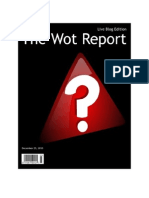 The Wot Report | December 29, 2010