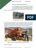 Maquinaria Para La Postcosecha y Beneficiado de La Quinua-R. Miranda