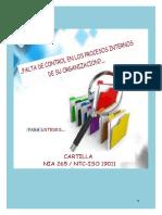 CARTILLA ISO 19001 Y NIA 265