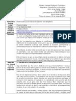 CUARTO REPORTE FUNCIÓN DE LA EDUCACIÓN EN MARX VRD