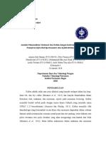 Laporan Praktikum Anpang Spektrofotometer FTIR dan UV-Vis