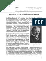 9 Lectura Obligatoria FREDERICK W. TAYLOR Y LA ADMINISTRACIÓN CIENTÍFICA .pdf
