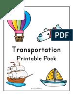 Transportation theme- Printable pack.pdf