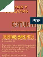 ENZIMAS , COENZIMAS, VITAMINAS Y MINERALES CAP. VII