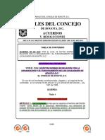 Acuerdo 740 de 2019