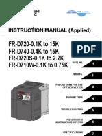 Inverter FR-D700 Fallas