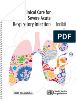 Cuidados Clinicos na Infecção Respiratoria