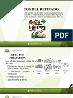 EFECTOS DEL REFINADO Y CALIBRACION DEL REFINADOR