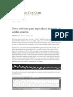 Novo software para reproduzir imagens de ondas sonoras _ Griffonage-Dot-Com