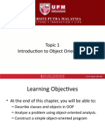 Topic 1 Introduction to Object Orientation.pptx