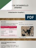 Plan de Desarrollo Urbano Ocopilla II expo
