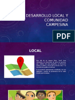 DESARROLLO LOCAL Y COMUNIDAD  CAMPESINA.pptx