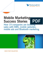 Mobile Marketing Sucess Stories