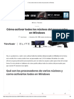 ▷ Cómo activar todos los núcleos del procesador en Windows.pdf